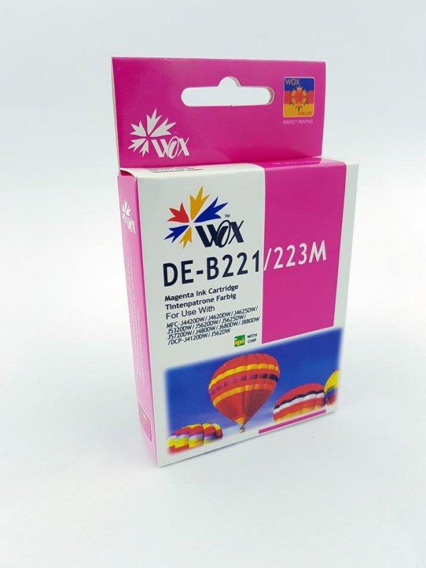 Tusz Wox Magenta Brother LC 223M  zamiennik LC223M  (950 stron A4 zgodnie z normą ISO/IEC 24711)