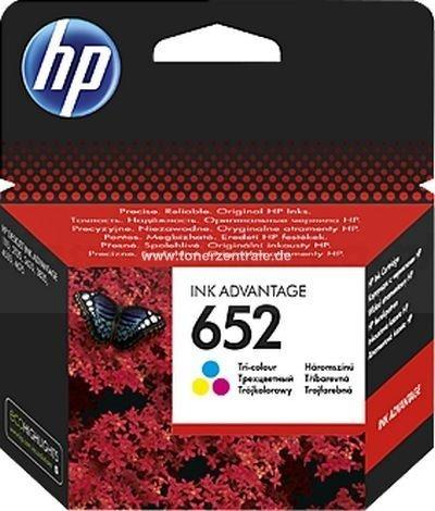 Tusz oryginalny HP 652 kolor