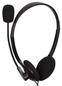 Słuchawki z mikrofonem GEMBIRD MHS-123 (kolor czarny