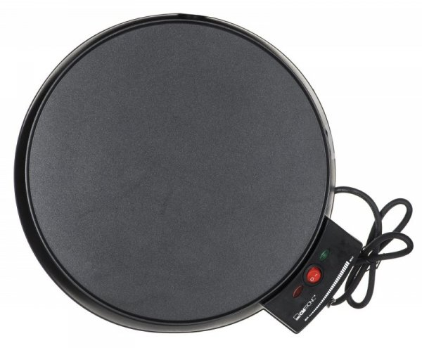Urządzenie naleśnikarka Clatronic CM 3372 (900W; kolor czarny)