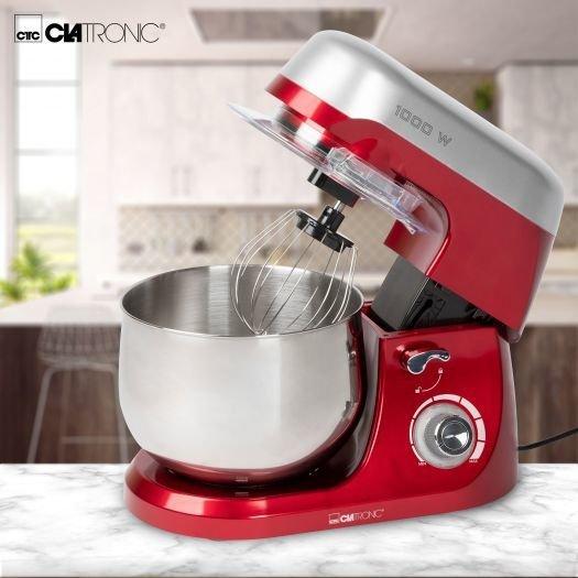 Robot kuchenny Clatronic KM 3709 (1000W) czerwony