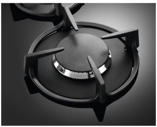 Płyta gazowa Electrolux EGG6407K (4 pola grzejne; kolor czarny)