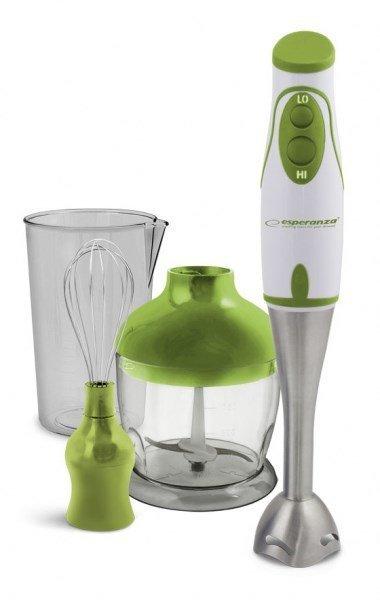 Blender ręczny Esperanza Crema EKM003G (450W; kolor zielony)