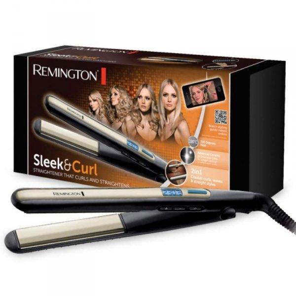 Prostownica do włosów REMINGTON S6500 (45W; kolor czarny)