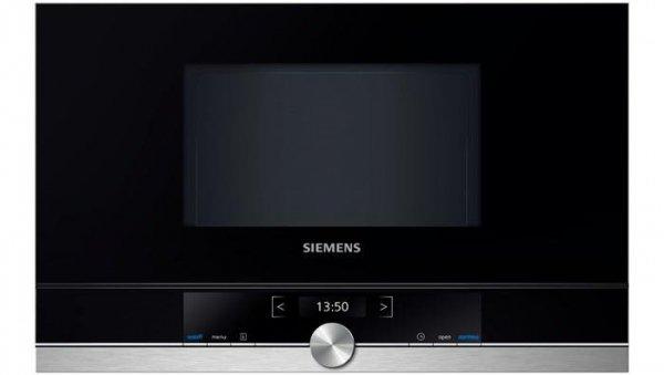 Kuchenka mikrofalowa Siemens BF 634 RGS1 (900W; 21l; kolor stalowy)
