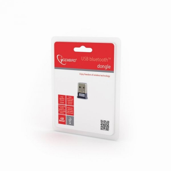 Adapter GEMBIRD BTD-MINI5 (USB M - Bluetooth 4.0 ; kolor czarny)