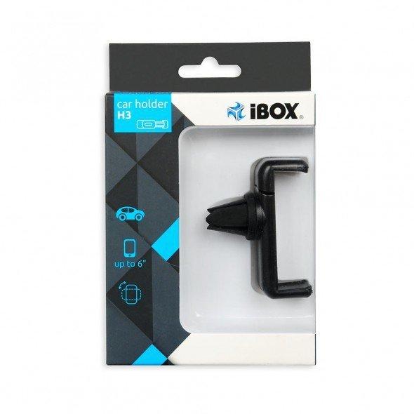 Uchwyt samochodowy IBOX H3 ICH3 (kolor czarny)