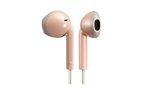 Słuchawki z mikrofonem JVC HAF-19MPTE (douszne; TAK; kolor różowy