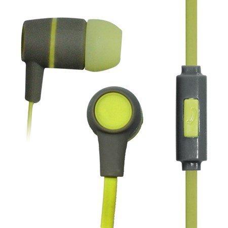 Słuchawki VAKOSS SK-214G (dokanałowe; z mikrofonem; kolor szary