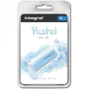 Pamięć USB INTEGRAL 16GB 2.0 Pastel Blue Sky INFD16GBPASBLS