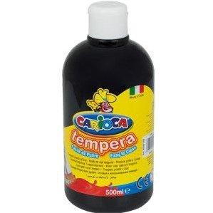 Farba TEMPERA czarna CARIOCA 500ml 170-2358