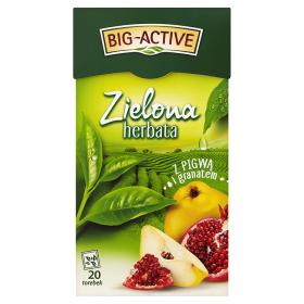 Herbata BIG-ACTIVE (20 torebek) zielona PIGWA-GRANAT