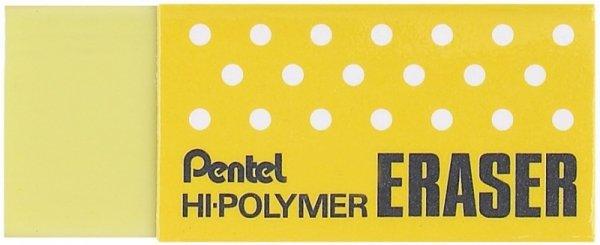 Gumka ołówkowa ZEH-05K zielona PENTEL mała (43x17,5x11,5mm)
