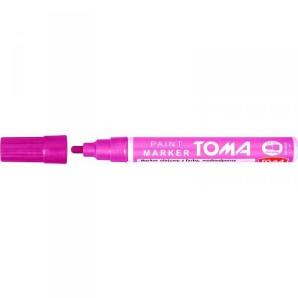Marker olejowy TO-440 grubość 2.5mm różowy TOMA