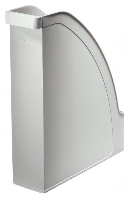 Pojemnik na czasopisma LEITZ PLUS szary 70mm 24760085