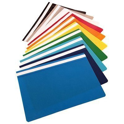 Skoroszyt miękki PP NATUNA niebieski (20szt) polipropylen