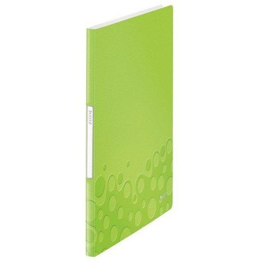 Album ofertowy 20kieszeni LEITZ WOW zielony 46310054/46310064