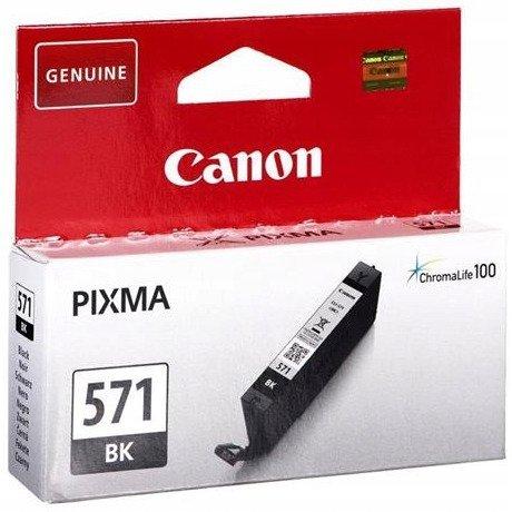 Tusz CANON (CLI-571BK/0385C001) czarny 7ml/376str
