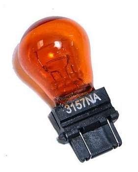żarówka dwuwłóknowa pomarańczowa 3057NA - kierunkowskazy
