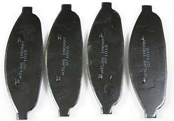 Klocki hamulcowe przednie CHN997 Chrysler Pacifica 2004-2008