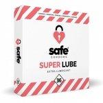 Prezerwatywy - Safe Super Lube Condoms Extra Lubricant 36 szt