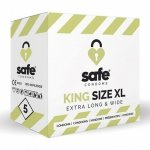 Prezerwatywy - Safe King Size XL Condoms 5 szt