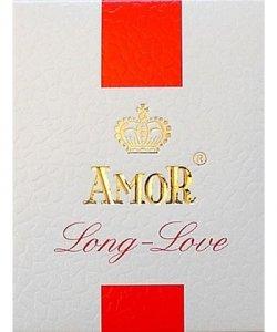 Prezerwatywy-Amor LONG LOVE PLAIN 3pcs
