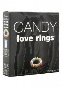 Słodycze-CANDY LOVE RINGS