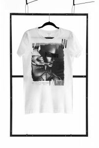 T-shirt men white XL regular