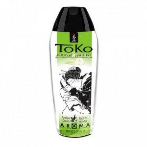 Lubrykant smakowy - Shunga Toko Lubricant Pear & Exotic Green Tea Gruszka i zielona herbata
