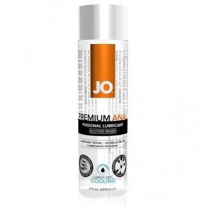 Lubrykant analny - System JO Anal Silicone Lubricant Cool 120 ml Chłodzący