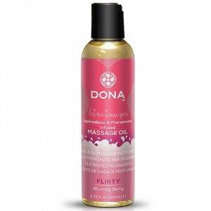 Olejek do masażu - Dona Scented Massage Oil Blushing Berry 125 ml