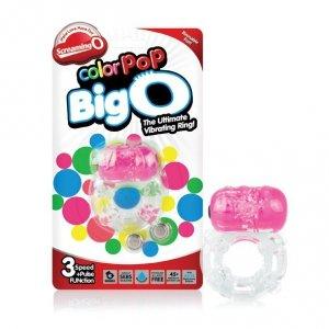 Pierścień erekcyjny - The Screaming O Color Pop Big O Pink