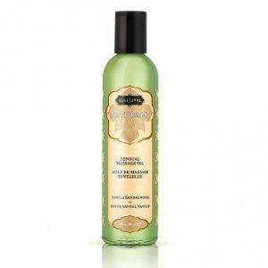 Naturalny olejek do masażu - Kama Sutra Naturals Massage Oil Vanilla Sandalwood