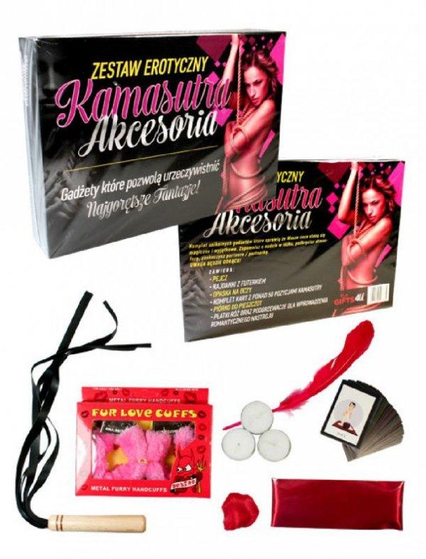 Gry-KAMASUTRA AKCESORIA-zestaw erotyczny