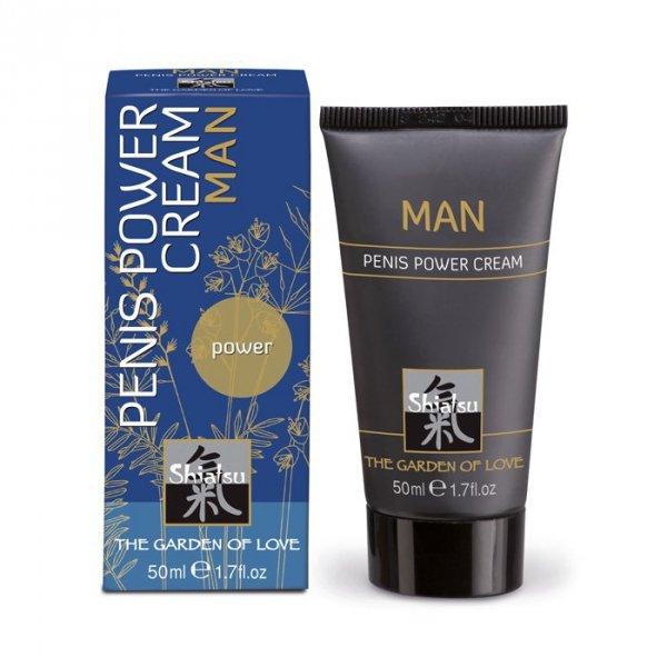 Shiatsu- 50ml penis power cream for man