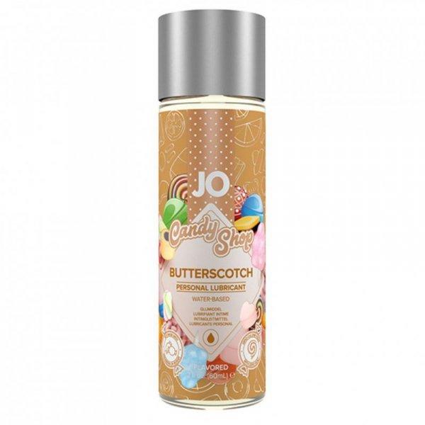 Środek nawilżający - System JO Candy Shop H2O Butterscotch Lubricant 60 ml