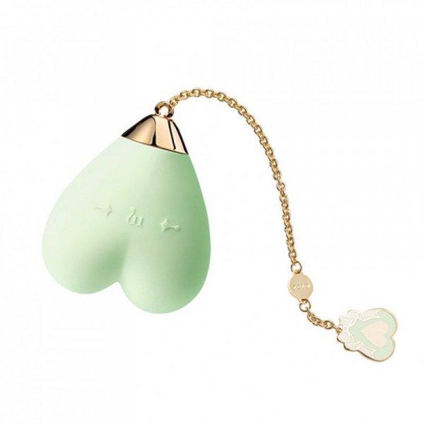 Masażer - Zalo Baby Heart Personal Massager Melon Green