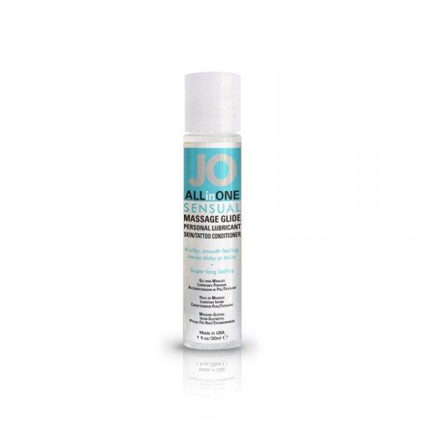 Olejek do masażu - System JO Massage Glide Unscented 30 ml Bezwonny