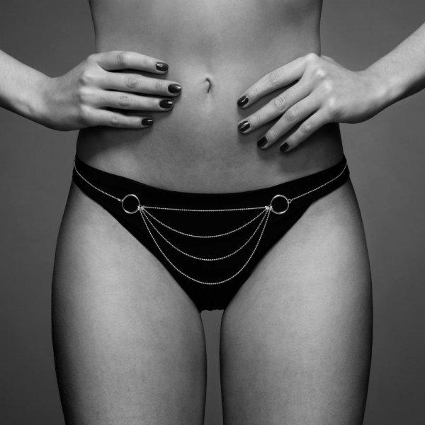 Łańcuszki jak bikini - Bijoux Indiscrets Magnifique Bikini Chain Silver