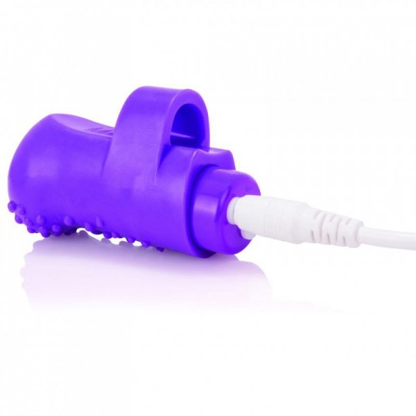 Wibrator na palec - The Screaming O Charged FingO Finger Vibe Purple