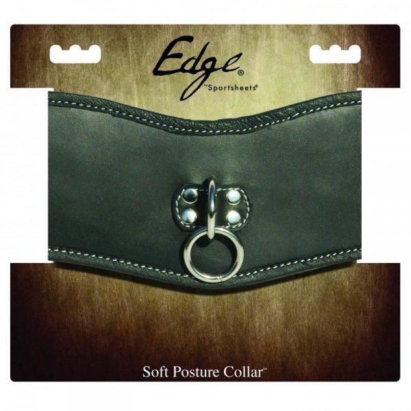 Obroża - Sportsheets Edge Soft Leather Posture Collar
