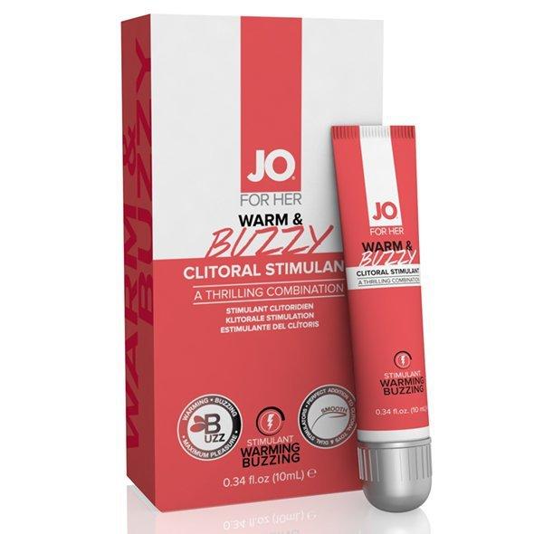 Żel stymulujący - System Jo Warm & Buzzy Original Stimulant (water based) 10 ml
