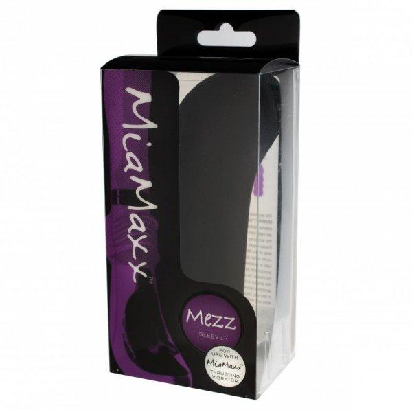 Nakładka na wibrator - MiaMaxx Mezz Sleeve G-Spot Black
