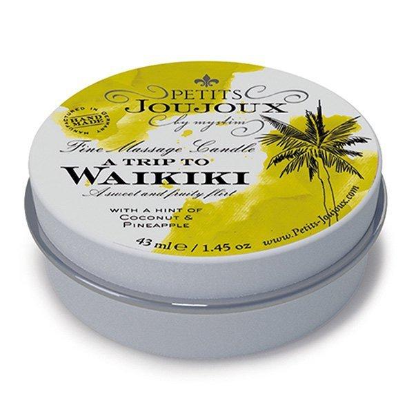 Świeca do masażu - Petits Joujoux Massage Candle Waikiki 33 gram