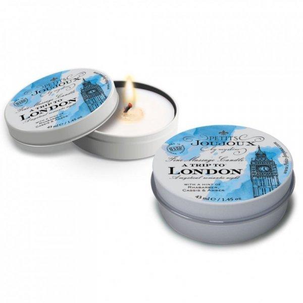 Świeca do masażu - Petits Joujoux Massage Candle London 33 gram