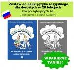 Żyli byli. Zestaw do nauki języka rosyjskiego dla dorosłych w 28 lekcjach - dla początkujących A1 (Podręcznik + zeszyt ćwiczeń)