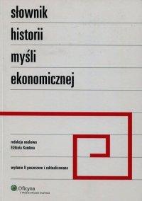 Słownik historii myśli ekonomicznej