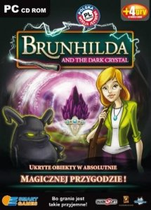 Brunhilda and the dark crystal. Smart games. PC CD-ROM + 4 gry w wersji demo