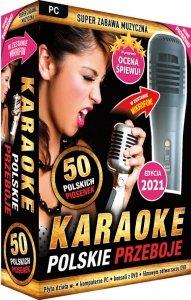 Karaoke Polskie Przeboje edycja 2021 - z mikrofonem PC-DVD